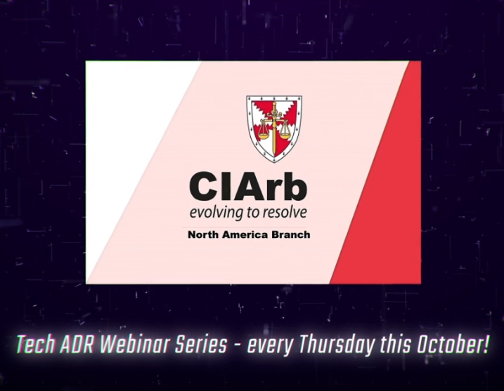 The Tech ADR Summit Webinar Series